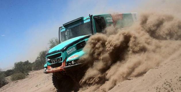 """Грузовик """"Астаны"""" поднялся на четвертое место в генеральной классификации перед последним этапом """"Дакара"""""""