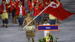 Взорвавший соцсети обнаженный знаменосец Тонга с Олимпиады в Рио отобрался на зимние Игры в Корею