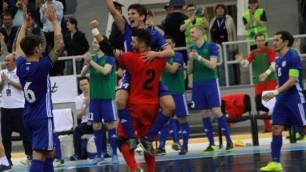 Сборная Казахстана огласила предварительный состав на Евро-2018 по футзалу