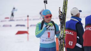 Лидер женской сборной РК по биатлону Вишневская оценила свою готовность и обозначила цели на ОИ