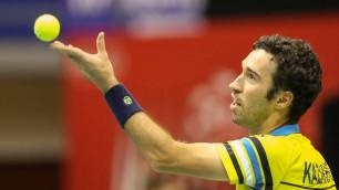 Сборная Казахстана по теннису объявила состав на матч против Швейцарии в Кубке Дэвиса