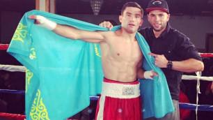 """""""Он готов нокаутировать"""". Менеджер казахстанского боксера рассказал о планах вхождения в ТОП-100 весовой категории"""