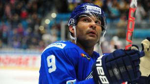 """Капитан """"Барыса"""" Доус вторым в истории КХЛ преодолел отметку в 35 шайб в двух сезонах"""