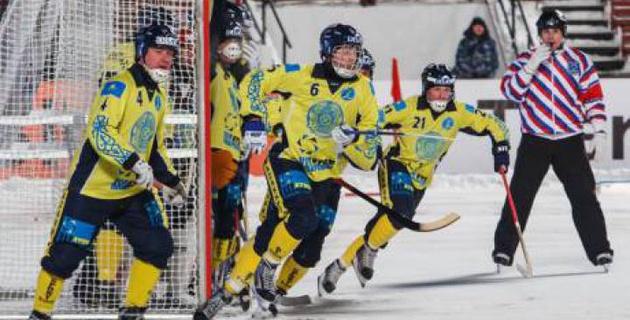 Сборная Казахстана по бенди забила 29 безответных голов в стартовом матче чемпионата мира