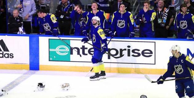 Российский хоккеист повторил свой легендарный буллит во время Матча звезд НХЛ