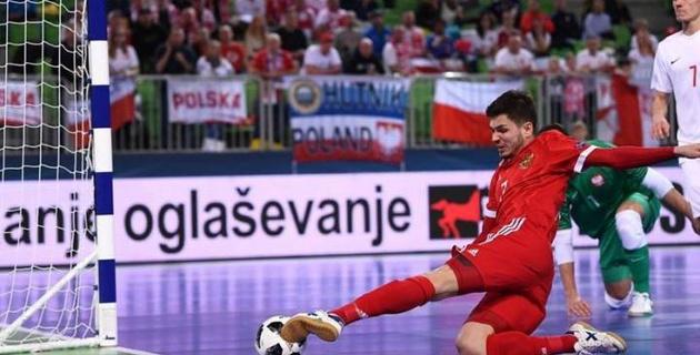 Россия за 9 секунд до конца матча упустила победу на старте Евро-2018 по футзалу в группе Казахстана