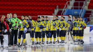 Определился соперник сборной Казахстана по бенди в 1/4 финала чемпионата мира