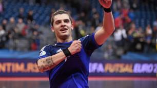 Лидер сборной Казахстана пропустит матч с Польшей на Евро-2018 по футзалу