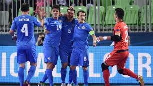 Сборная Казахстана вышла в четвертьфинал Евро-2018 по футзалу