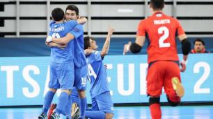 Какау прокомментировал выход сборной Казахстана в четвертьфинал Евро-2018 по футзалу