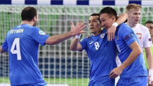 Букмекеры сделали прогноз на матч сборной Казахстана по футзалу с Россией на Евро-2018