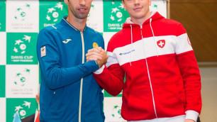 Михаил Кукушкин прокомментировал волевую победу в матче с Швейцарией в Кубке Дэвиса