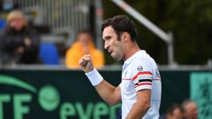 Кукушкин принес второе очко в Кубке Дэвиса и приблизил Казахстан к досрочной победе над Швейцарией