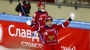 Сборная России вышла в финал чемпионата мира по бенди в Хабаровске