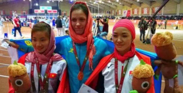 Казахстанская легкоатлетка Нерознак выиграла свою вторую награду на ЧА в помещении в Тегеране