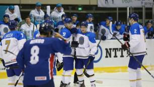 Сборная Казахстана по хоккею победила участника Олимпиады-2018 в товарищеском матче