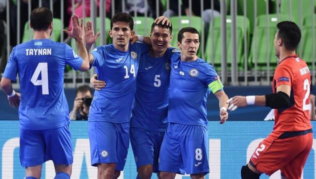 Видеообзор матча Казахстан - Россия на Евро-2018 по футзалу