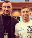 Как Головкин болел за Гассиева в бою против Дортикоса в полуфинале Всемирной суперсерии бокса