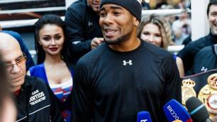Гассиев вернул пояс WBA расплакавшемуся после поражения Дортикосу