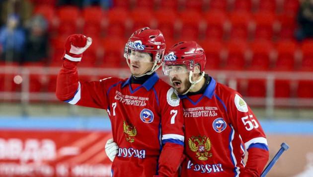 Cборная России в 11-й раз выиграла чемпионат мира по бенди
