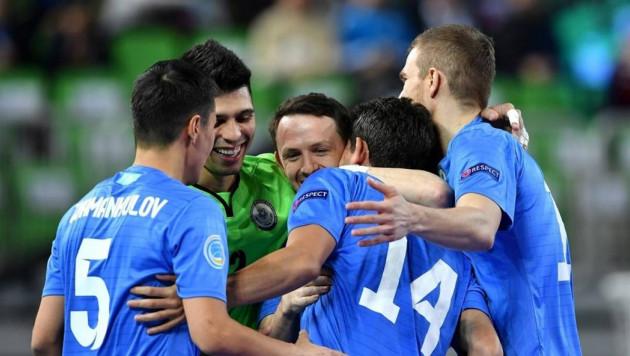 Определились все четвертьфинальные пары Евро-2018 по футзалу с участием сборной Казахстана