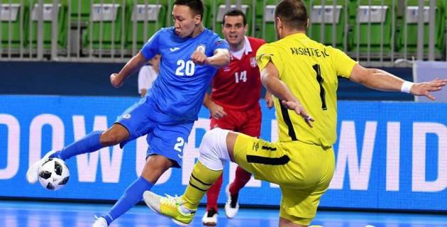 Видео голов сборной Казахстана, которые вывели ее в полуфинал Евро-2018 по футзалу