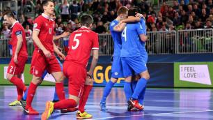Второй подряд полуфинал на Евро помог Казахстану войти в историю футзала