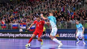 Сборная России после матча с Казахстаном победила хозяйку Евро-2018 по футзалу и вышла в полуфинал