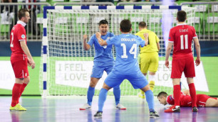 Форвард сборной Казахстана вышел в лидеры бомбардиров Евро-2018 по футзалу