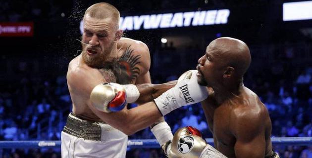 Я не испугался и вышел на боксерский ринг. Теперь Мейвезеру следовало бы сразиться на моей территории - МакГрегор