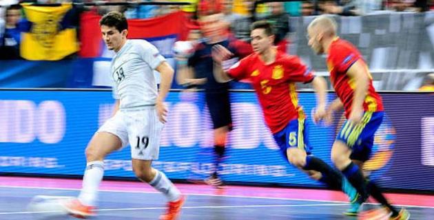 Смотреть футбол росия испания футзал