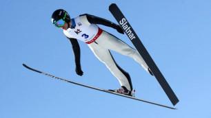Первый спортсмен из Казахстана стартовал на зимней Олимпиаде-2018