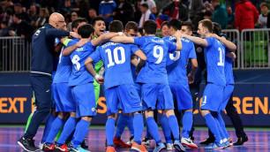 Прямая трансляция матча Казахстан - Испания в полуфинале Евро-2018 по футзалу