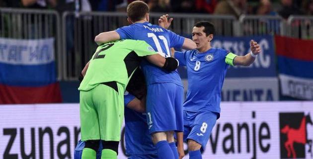 Видео всех голов и серии пенальти в матче Казахстана и Испании в полуфинале Евро-2018 по футзалу