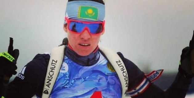 Биатлонистка Климина представит Казахстан в лыжных гонках на Олимпиаде-2018