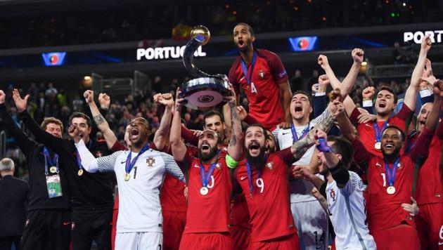 Испания после тяжелой победы над Казахстаном проиграла Португалии в финале Евро-2018 по футзалу