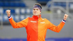 Голландский конькобежец стал рекордсменом Олимпийских игр