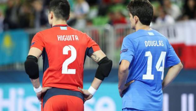Два игрока сборной Казахстана вошли в символическую сборную Евро-2018 по футзалу