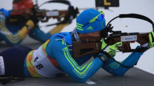 Биатлонист Роман Еремин с 43-м местом стал лучшим среди казахстанцев в спринте на Олимпиаде-2018