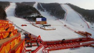 Соревнования в гигантском слаломе на ОИ-2018 с участием казахстанки перенесены из-за непогоды