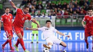 Казахстан стал одной из самых результативных сборных на Евро-2018 по футзалу