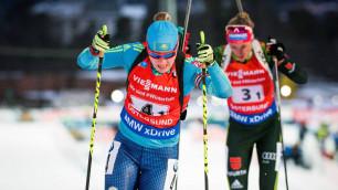 Казахстанская биатлонистка Галина Вишневская стала 20-й во второй гонке на Олимпиаде-2018