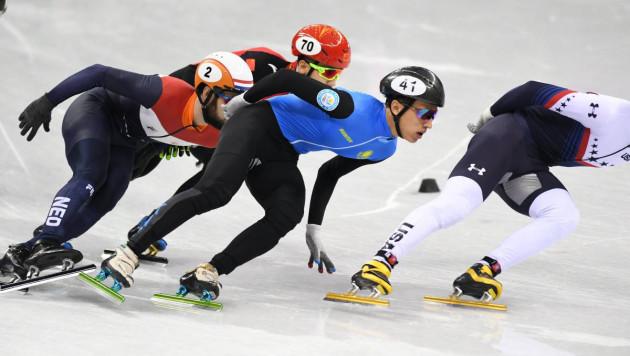 Казахстанский шорт-трекист Жумагазиев завершил выступление на 1 000 метров в первом забеге на Олимпиаде-2018