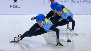 Мужская сборная Казахстана по шорт-треку завершила борьбу за медали Олимпиады-2018 в эстафете
