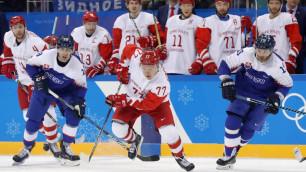 Сборная России по хоккею проиграла в стартовом матче Олимпиады-2018, ведя в счете 2:0