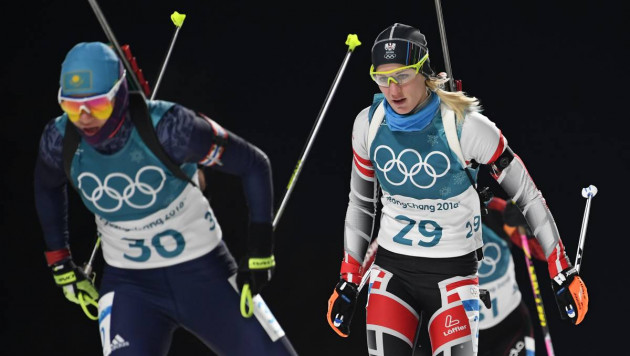 Лидер сборной Казахстана по биатлону Вишневская не вошла в ТОП-40 в индивидуальной гонке на Олимпиаде-2018