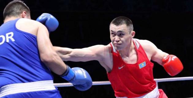 Казахстанский боксер Кункабаев заставил угол соперника выбросить полотенце и принес сборной ничью в матче с Россией
