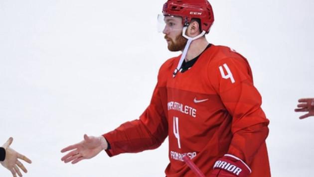 На Олимпиаде-2018 хоккеистам перед матчем Россия - США запретили рукопожатия