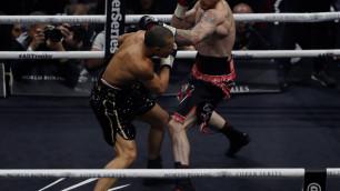 Бывший спарринг-партнер Головкина победил окровавленного Юбенка-младшего и вышел в финал WBSS