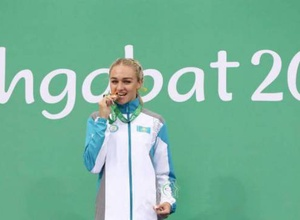Элина Михина установила рекорд Казахстана и выполнила норматив на чемпионат мира по легкой атлетике